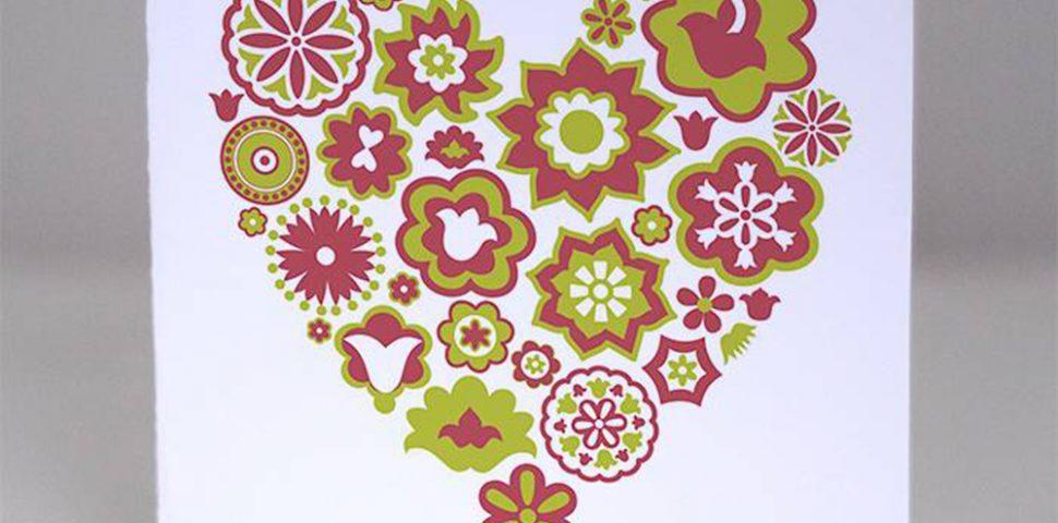 Татарская открытка