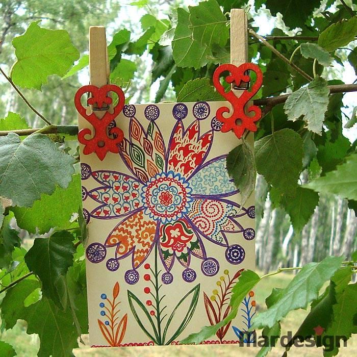Современная татарская открытка, про